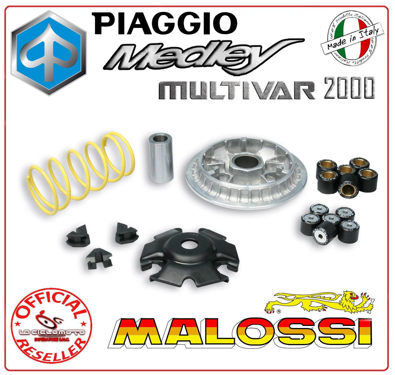 variator multivar 2000 malossi 5117431 piaggio medley 125. Black Bedroom Furniture Sets. Home Design Ideas